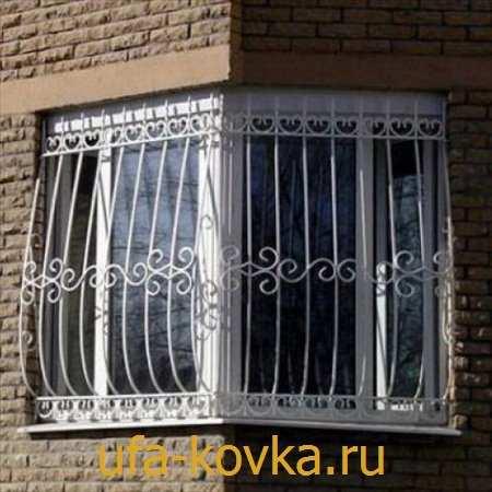 Фотографии кованых решеток на балкон - художественная ковка..